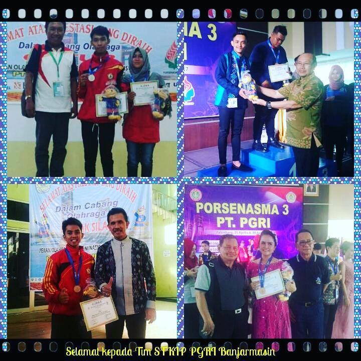 Selamat Para Pemenang Porsenasma 3 PGRI di Palembang