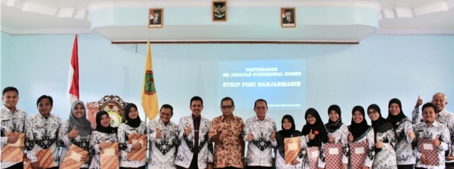 Penandatanganan Pakta Integritas Struktural dan Surat Keputusan Jabatan Fungsional