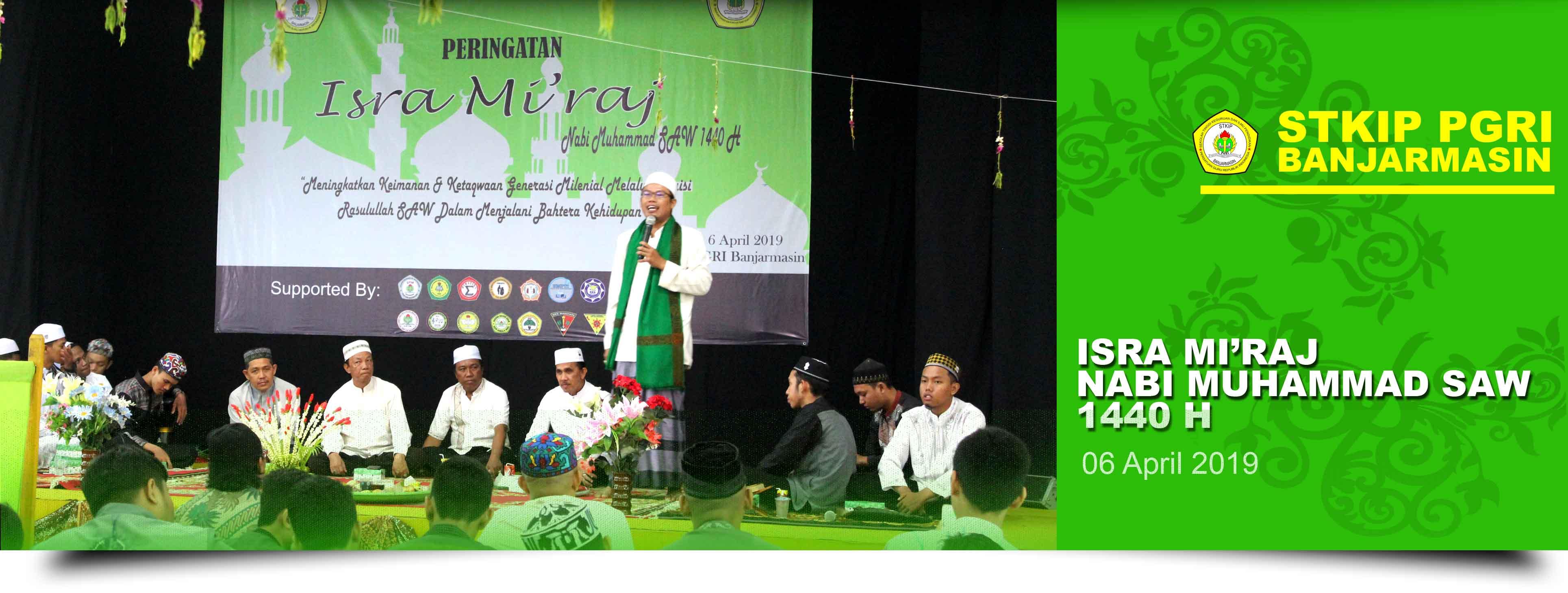 Peringatan Isra Miraj Nabi Muhammad SAW 1440 H