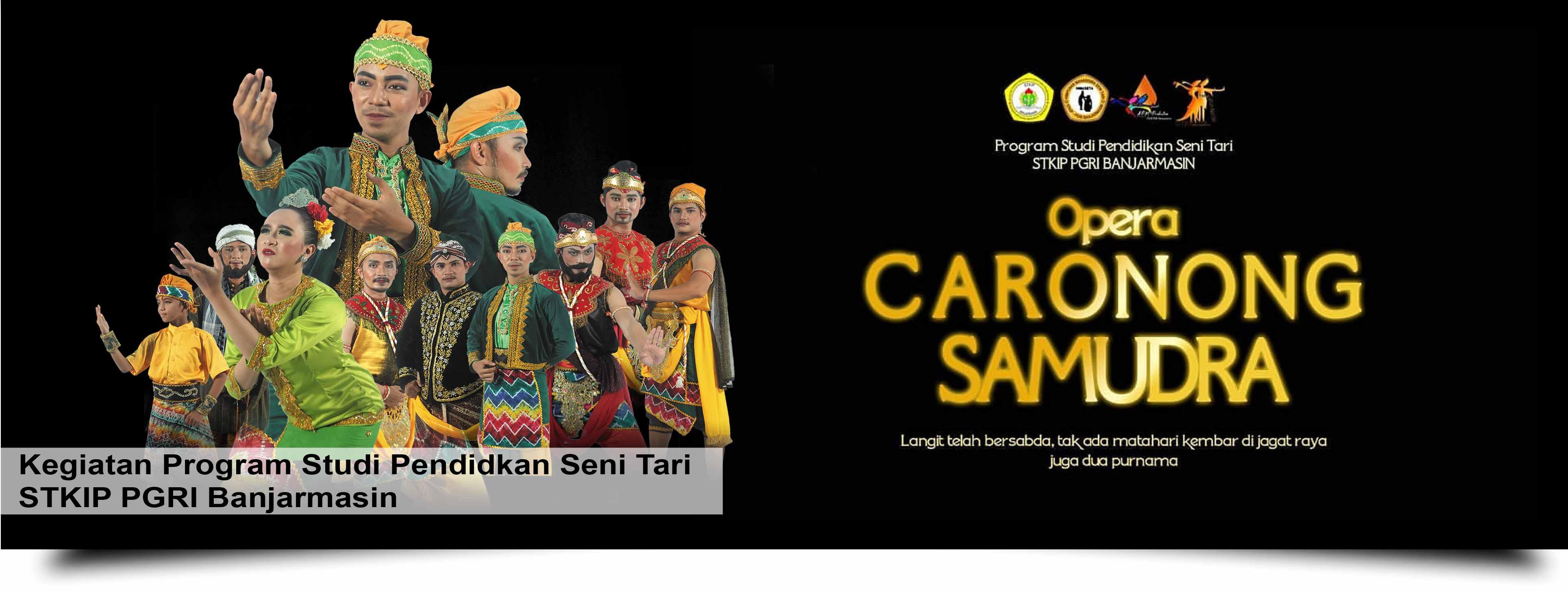 Berebut Takhta, Pertarungan Terjadi di Opera Caronong Samudra Gedung Sultan Suriansyah Banjarmasin
