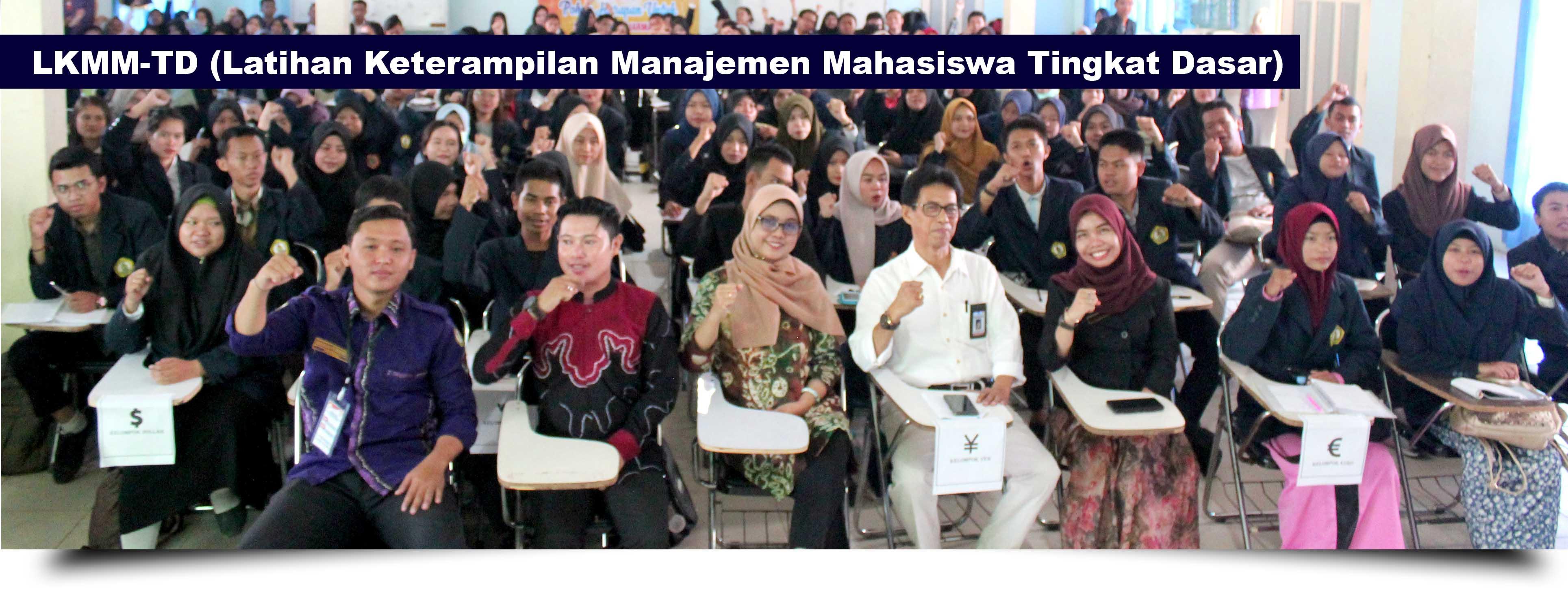 LKMM-TD (Latihan Keterampilan Manajemen Mahasiswa Tingkat Dasar) STKIP PGRI Banjarmasin