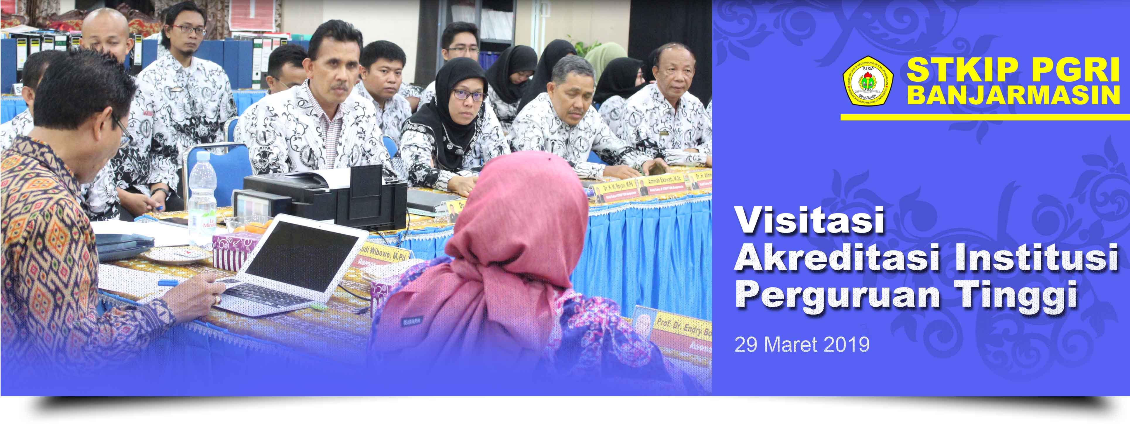 Visitasi Akreditasi Institusi oleh Tim Asesor BAN-PT