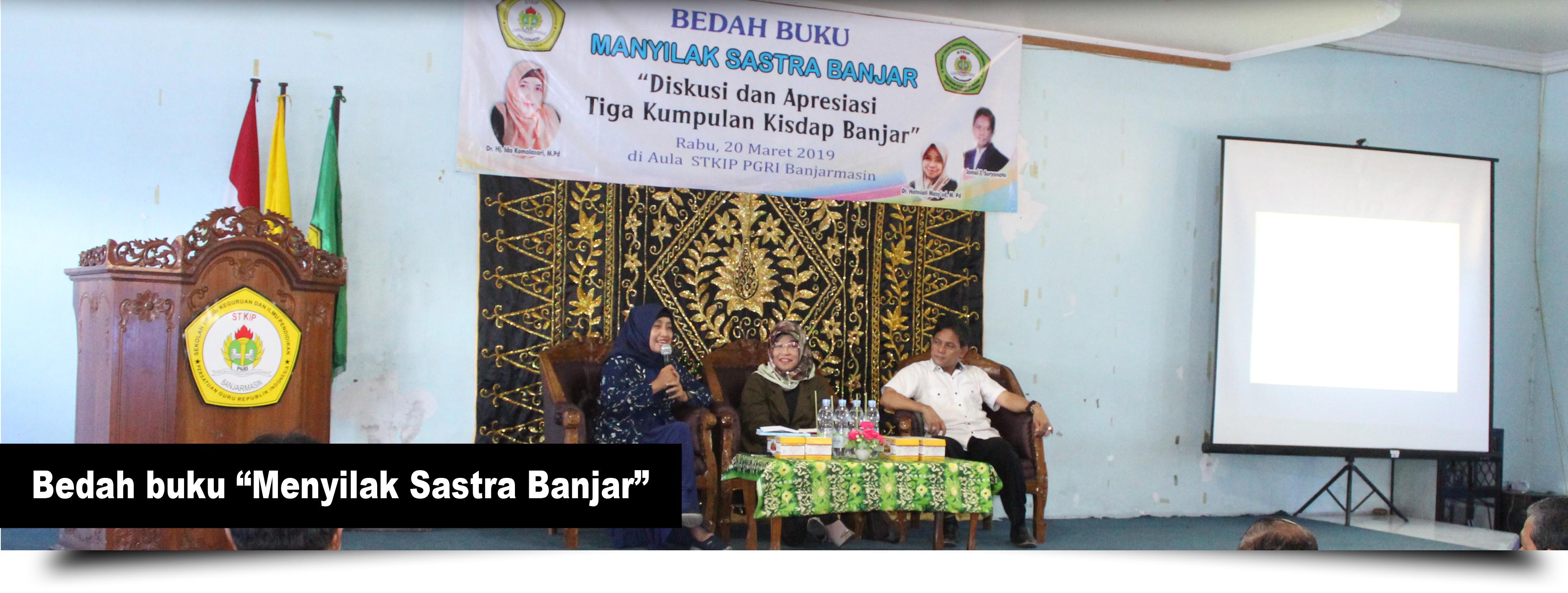 Bedah buku Menyilak Sastra Banjar