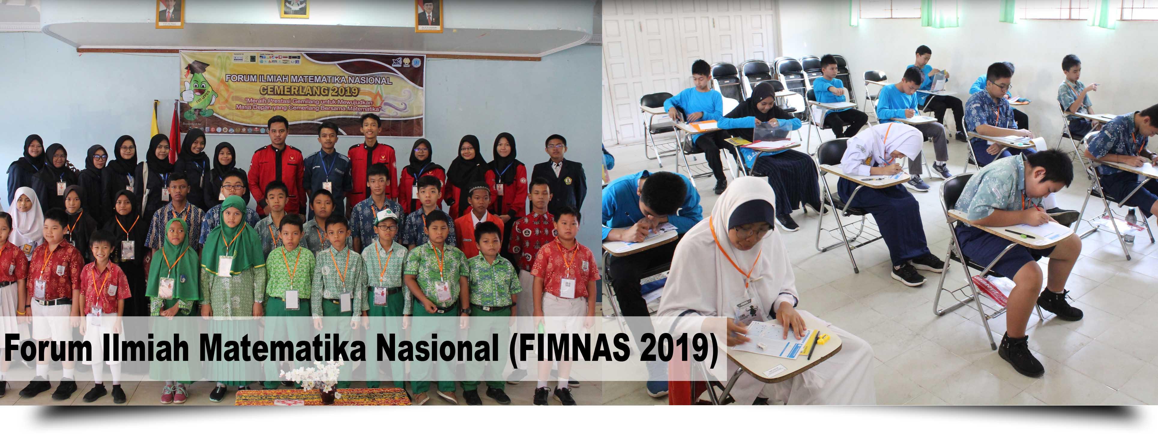 Forum Ilmiah Matematika Nasional (FIMNAS 2019)