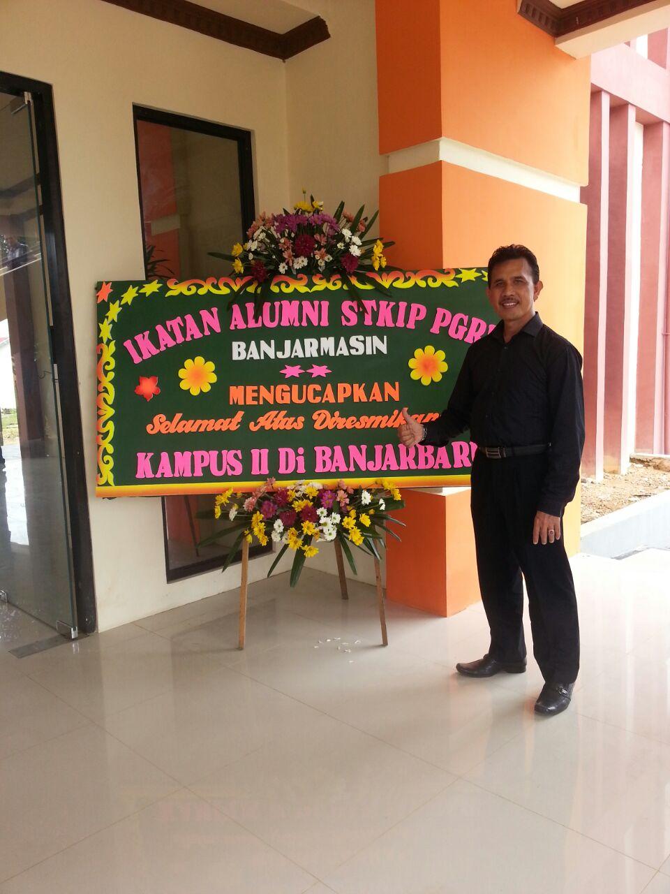 Selamatan Kampus Baru Banjarbaru